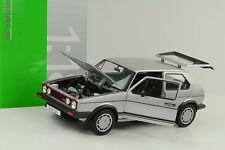 1983 Volkswagen VW Golf I 1 GTI Pirelli silber 1:18 Welly