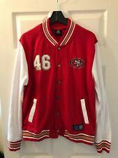 NFL JACKET - SAN FRANCISCO 49ERS - SIZE LARGE - BRAND NEW - TEAM APPAREL