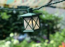 Gki Bethlehem Value Pack 12 sets Patio String Lights 10 Colonial Lanterns