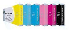 6 x INCHIOSTRO F. Mimaki jv33 jv34 jv150 jv300 ss21-solvente 440ml ink cartridges