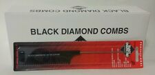 "BLACK DIAMOND BY DUPONT COMB BARBER SALON81/2"" PINTAIL TEASER #40T (2 for $10)"