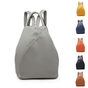 Lady Girl Boutique Nice Neat Synthetic Leather S-Medium Backpack Back Bag UK