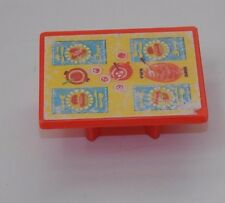Vtg Fisher Price Little People Play Family Camper Red Table  #994 Replacement