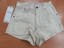 Wrangler High Waist 100% Cotton Shorts for Women