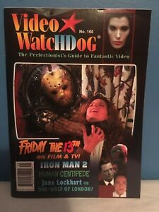 Video Watchdog #160 2011-Nice Condition-Jason Vorhees Friday The 13th Cover