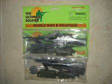 """1/6 12"""" Ultimate Soldier WWII Weapons x 2 bags"""