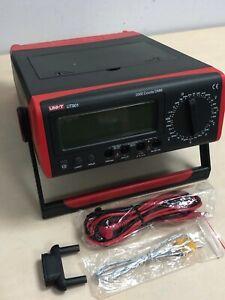 Uni-T UT801 Bench Digital Multimeter - New Boxed