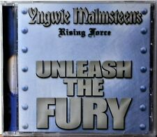 CD Yngwie Malmsteen Malmsteen's Rising Force Unleash the Fury US ISSUE Hard Rock