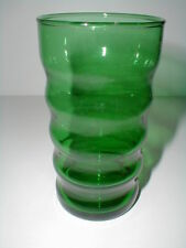 Anchor Hocking Glass Forest Green 9-1/2 oz Ring Tumbler