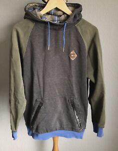 Nike 6.0 Hoodie Gr. S/M Pullover Kapuze grün blau khaki