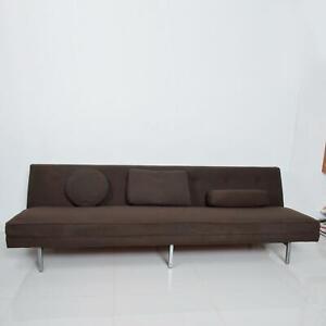 Modern Vintage Sofa by George Nelson for Herman Miller, Chrome Legs 1950s