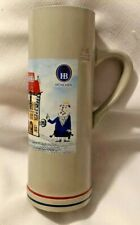 Hb Hofbrauhaus Munchen 0.5L Pottery Beer Stein Aloisious Hand Made Sohm-2012