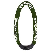 Master Lock Hardened Steel Chain Set-Your-Own Combination Lock 8028EURD - Green