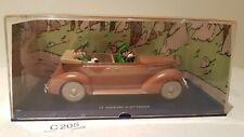 Tim und Struppi Tintin Auto Ford V8 aus König Ottokars Zepter bespielt (C205)