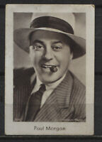 Paul Morgan Vintage Movie Film Star Trading Photo Card