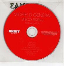 (GI238) Midfield General, Disco Sirens - 2008 DJ CD