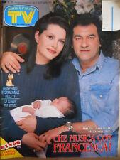 TV Sorrisi e Canzoni n°16 1991 Anna Oxa Laura Del Sol Arafat  [D45]