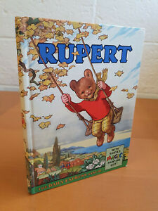 RUPERT ANNUAL 1961 Magic Painting pages untouched - V. NICE!
