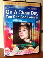 On a Clear Day You Can See Forever (DVD, 2005, Widescreen) / FACTORY SEALED