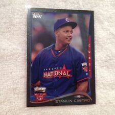 2014 TOPPS UPDATE #US-103 STARLIN CASTRO *BLACK #22/63*  CHICAGO CUBS