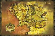 Lord of the Rings : Classic Map - Maxi Poster 61cm x 91.5cm (new & sealed)