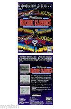 Williams' Arcade Classic 1999 NEW SEALED!  GAME.COM/Tiger