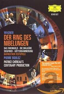 Der Ring Des Nibelungen: Bayreuther Festspiele (Boulez) [DVD] [2005][Region 2]