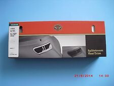 HARLEY DAVIDSON Original OEM 2014+ Touring Chrome  Fairing Vent Trim MADE IN USA