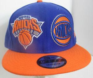 Knicks Hat Snapback New York NY NBA New Era Embroidery Unisex Cap    bluorg