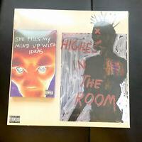 Travis Scott Highest In The Room Cover III Vinyl Cactus Jack ALIEN/PAINTING JACK