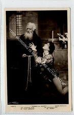(Ga7725-100) Real Photo of Romeo & Juliet, Theatre 1908 Used G-VG