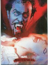 Marvel Masterpieces 2007 Base Card #27 Dracula