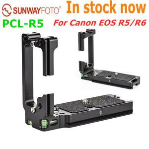 SUNWAYFOTO PCL-R5 Quick Release L-bracket Plate hand grip for Canon EOS R5/R6