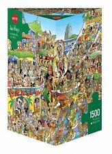 Heye Carnaval En Rio - triangular1500 piezas Puzle Rompecabezas hy29752
