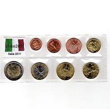 Euro ITALIA 2011 - 8 PZ FDC in Blister -