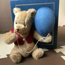 R JOHN  WRIGHT DOLLS Winnie the pooh collection pooh's blue balloon Teddy bear