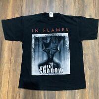 Vintage IN FLAMES Heavy Metal Rock Band Tour Promo Album Shirt Concert Music L