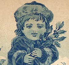 NYC TRADE CARD,WADE & CUMMING, MOVING SALE at 8th & 23rd by OPERA HOUSE   TTC857