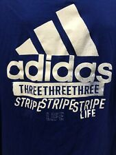 Adidas Amplifier Mens T Shirt Size 2XL Blue
