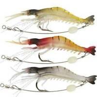 3PCS Fishing Baits Hooks Minnow Fish Lures Crank Bass Crankbaits Tackle Sinking