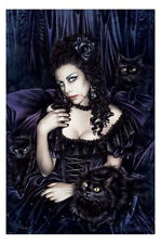 VICTORIA FRANCES PINUP POSTER (61x91cm) GOTHIC GIRL PICTURE PRINT NEW ART
