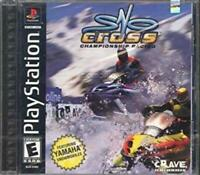 Sno-Cross Championship Racing Playstation 1 Game PS1 Used Complete