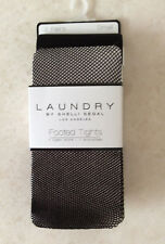 LAUNDRY By Shelli Segal Size Small 2 Pairs Black Footed Tights ~ NWT - $30