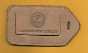 ✱ JAL - JAPAN AIRLINES ✱ OLD  EXECUTIVE CLASS LUGGAGE TAG ✱