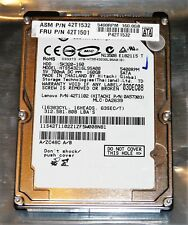 "Hitachi Travelstar 160GB Laptop Hard Drive, 5400RPM, 2.5"", HTS543216L9SA00"