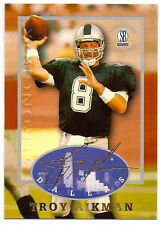 TROY AIKMAN 1997 STRONGBOX AUTOGRAPHED COLLECTION CARD #31! DALLAS COWBOYS!