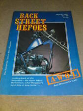BACK STREET HEROES # 59 - THE SEVENTIES - March 1989