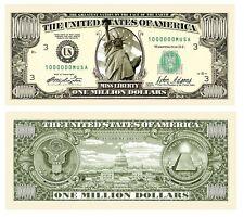 Wholesale Lot of 50 - Traditional Million Dollar Bills