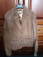 Ladies Brown Suede Jacket. size 14. NEW LOOK. Tags attached NEVER WORN !