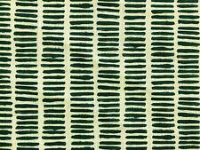 Nine Muses Charman Dash Dark Teal 11 Linen Green Upholstery Drapery Fabric